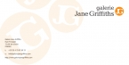 Galerie Jane Griffiths Compliment Slip Orange