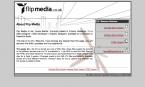 Flipmedia Version 1.0 About Page