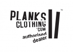 Planks Clothing Authorised Dealer sign