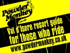 Powder Monkey Resort Guide Poster