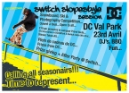 Switch Slope Style Session Flyer Front