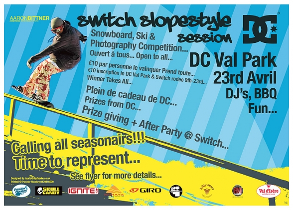 Switch Slope Style Session Poster
