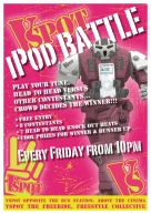 VSPOT iPod Battle Promotional Poster
